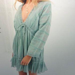 NWT: Mini Smock Dress